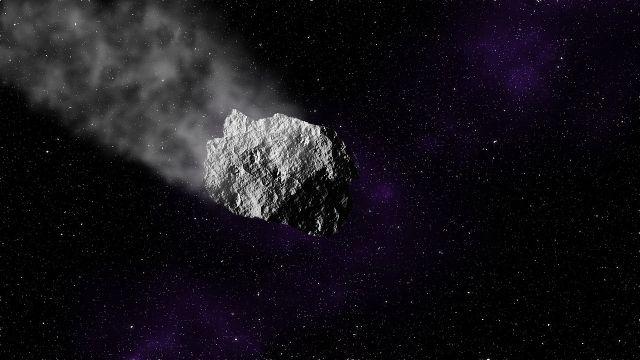Imagen de archivo de un asteroide en el espacio