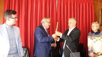 El alcalde de Mieres, Anibal Vázquez