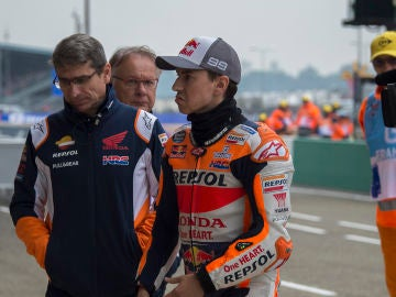 Jorge Lorenzo, en el GP de Francia