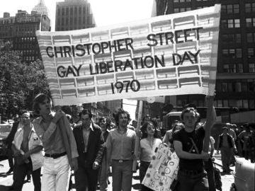 Primera manifestación del Orgullo Gay en Madrid