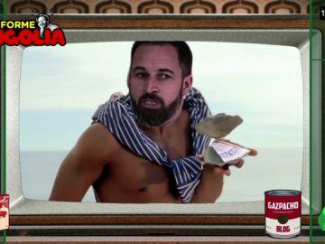 Así sería el anuncio de 'Old Spice' protagonizado por Santiago Abascal
