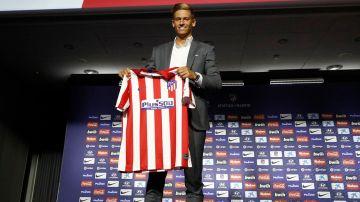 Marcos Llorente, nuevo jugador rojiblanco