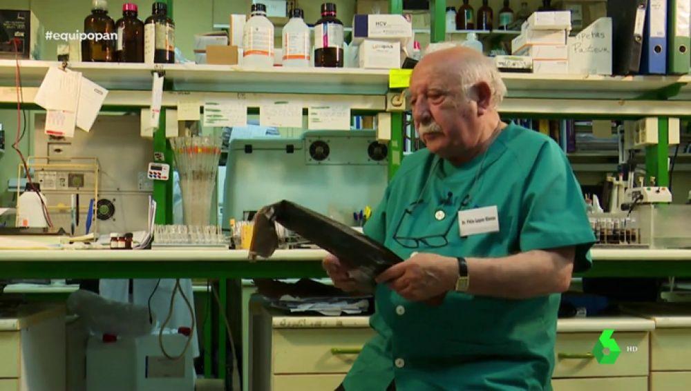 El médico Félix López Elorza