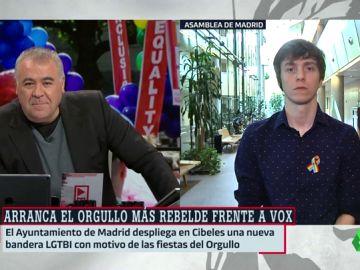 El diputado de Más Madrid, Eduardo F. Rubiño