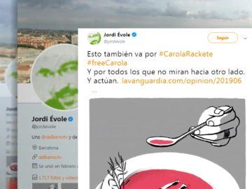 Jordi Évole, Ada Colau o Pep Guardiola piden la liberación de la capitana del 'Sea Watch'