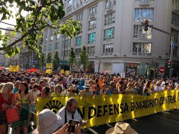 Miles de personas defienden Madrid Central