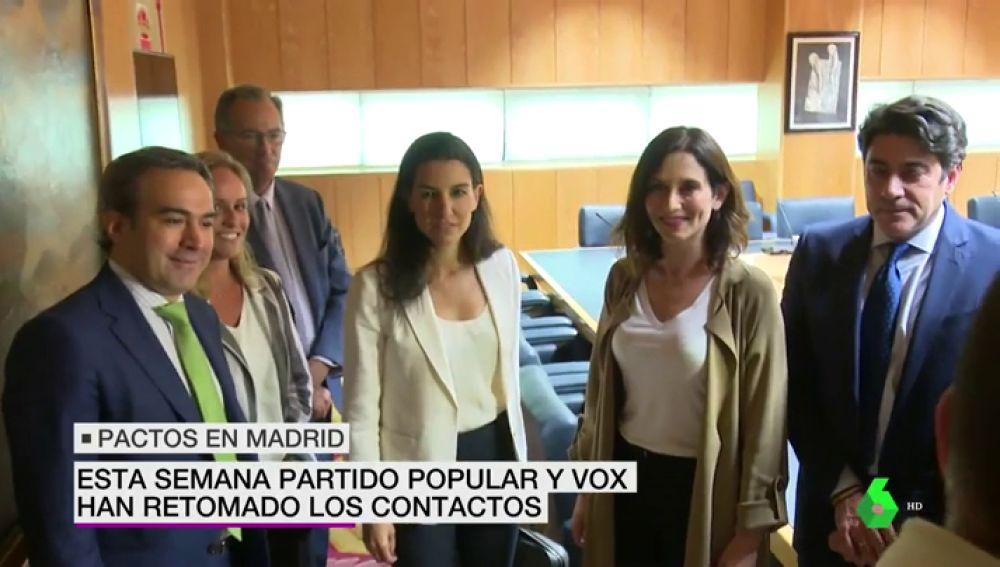 Madrid, Navarra, Murcia y Aragón: así están los pactos de Gobierno autonómicos más difíciles
