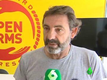"""Oscar Camps no cede a las amenazas de Salvini: """"De la cárcel se sale, del fondo del mar no"""""""