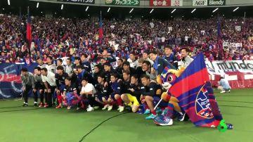 Despedida de crack para Takefusa Kubo en el Tokyo FC antes de poner rumbo al Real Madrid