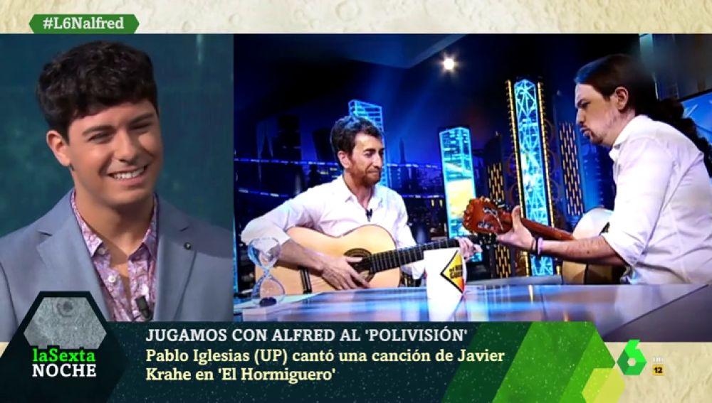 Alfred García en laSexta Noche