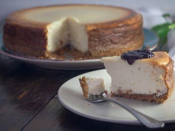 Imagen de archivo de una tarta de queso.