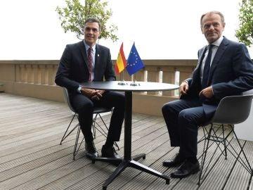 Pedro Sánchez y Donald Tusk