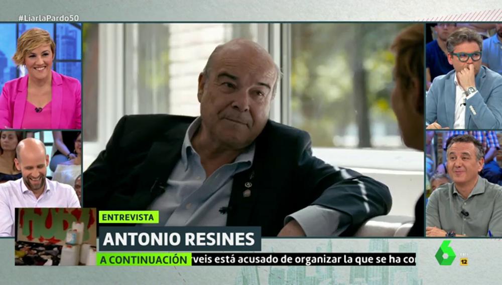 """Antonio Resines critica los comentarios de Francisco Serrano sobre la sentencia de 'La Manada': """"Eso no se puede decir"""""""