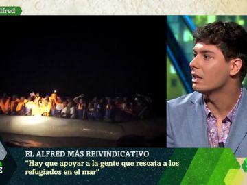 """El rotundo mensaje de Albert García sobre migración: """"No es una cuestión de los políticos, sino un problema todos"""""""