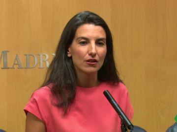 Rocío Monasterio asegura que Vox votará 'no' al PP si no hay acuerdo a tres con Ciudadanos