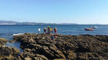 Muere un buzo tras ser golpeado por una embarcación en Sanxenxo, Pontevedra