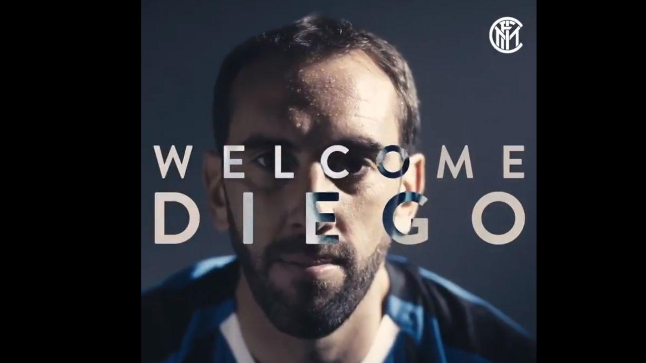 Diego Godín ficha por el Inter de Milán