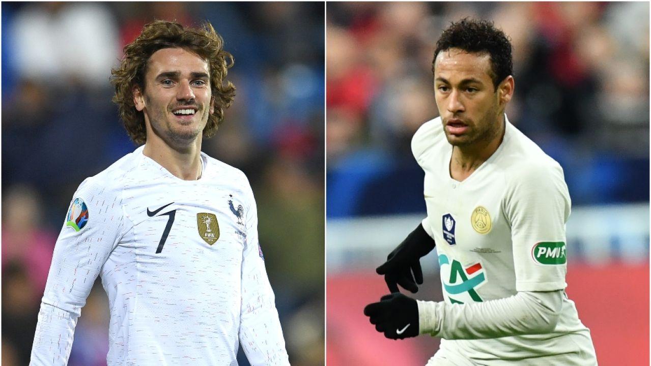 Neymar y Griezmann, protagonistas del verano del Barça