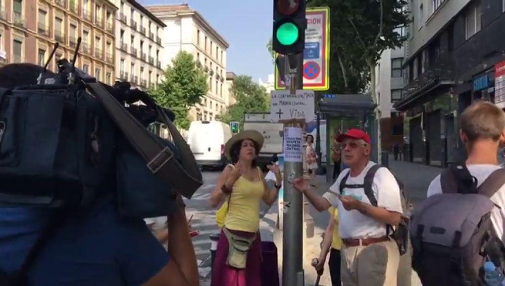 Vecinos de Madrid organizan piquetes para protestar contra la moratoria de multas de Madrid Central