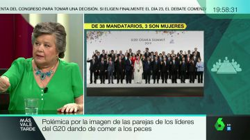 """Cristina Almeida, sobre la polémica falta de representación de mujeres en el G20: """"Menos pececitos y más puestecitos"""""""