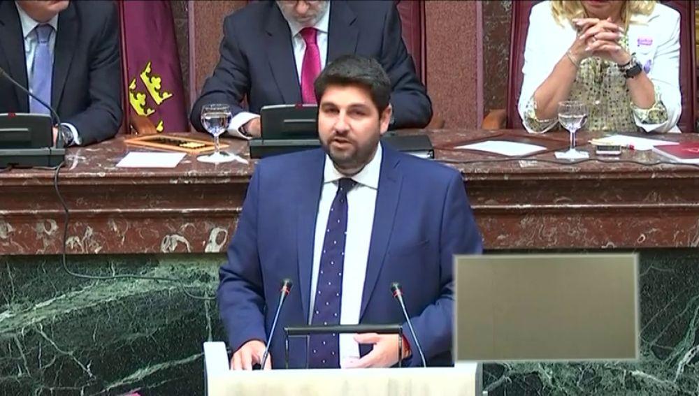 Inicio del debate de investidura en Murcia sin tener asegurada la mayoría