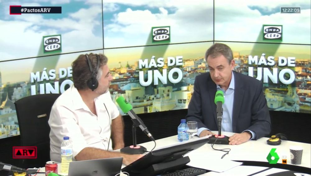 "Zapatero: ""No se debe pactar con Bildu"""