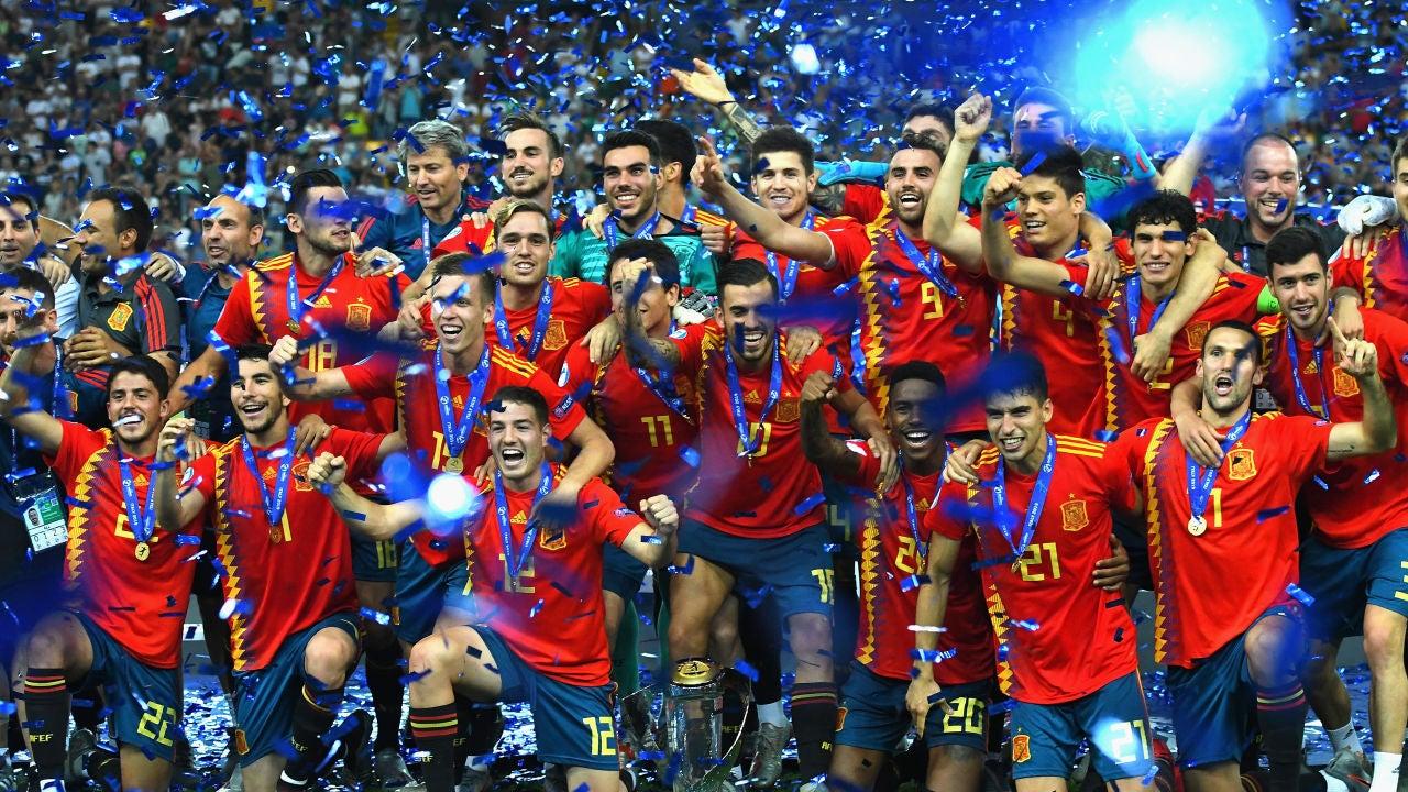 La selección española sub-21, campeona de Europa
