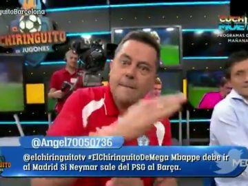 """La predicción de Tomás Roncero a Griezmann si ficha por el Barcelona: """"¡Jaque mate!"""""""