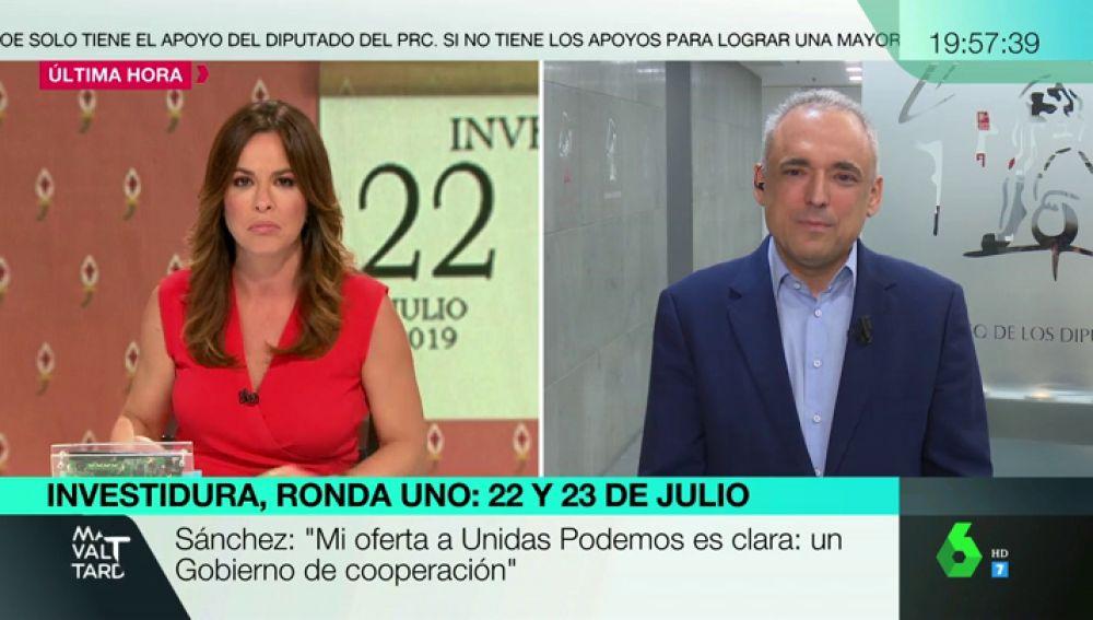 """Rafael Simancas (PSOE): """"No nos podemos ir de vacaciones sin resolver la conformación del Gobierno"""""""