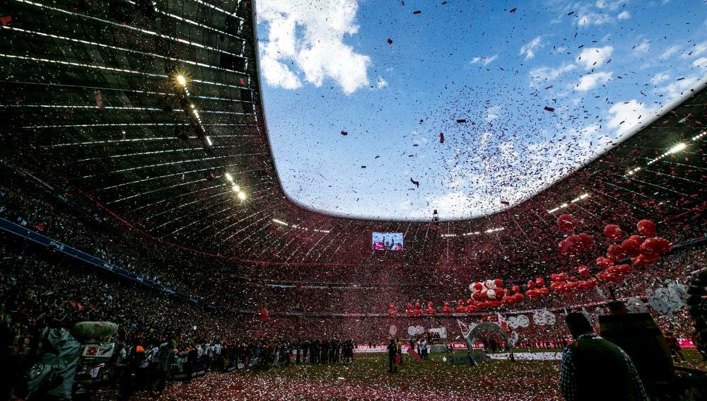 El Allianz Arena, el estadio del Bayern de Múnich