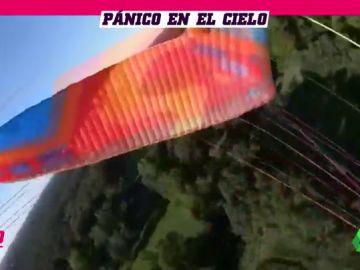 Un parapentista pierde el control y graba su agónica caída al suelo