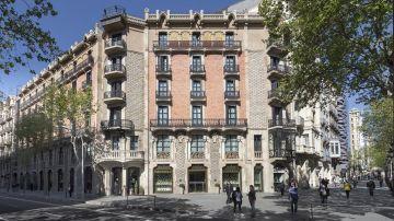 Hotel Monument en el Paseo de Gracia en Barcelona