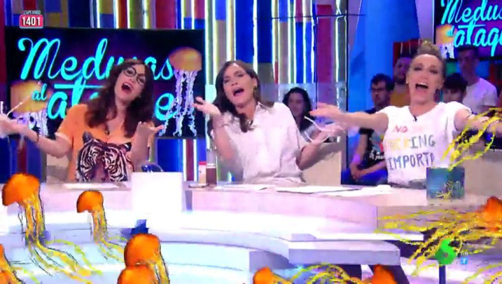 Así es 'Medusas al ataque', el hit imprescindible de este verano con Boticaria García, Anna Simon y Ana Morgade