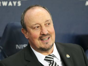 El entrenador español Rafa Benítez