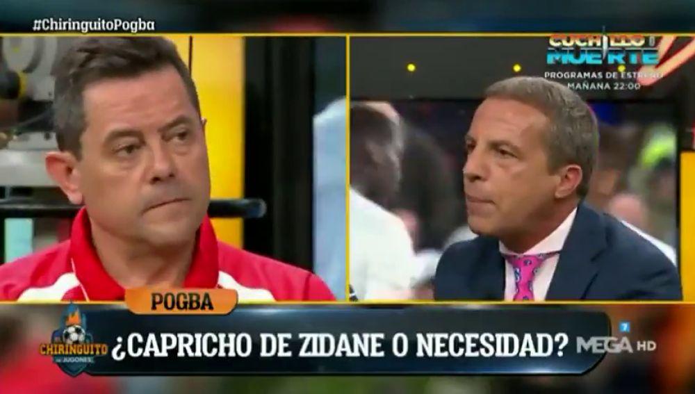 """La sinceridad de Cristóbal Soria con el posible fichaje de Pogba por el Real Madrid: """"¡Hay que traerlo!"""""""