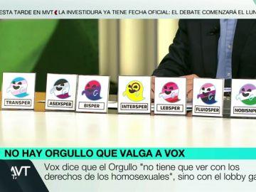 "Fluidsper, Transper o Asexsper: los ""amigos de Gaysper"", el fantasma que Vox lanzó como una amenaza al mundo LGTBI"