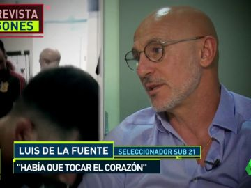 """Luis de la Fuente: """"Lo ves y te sigues emocionando"""""""