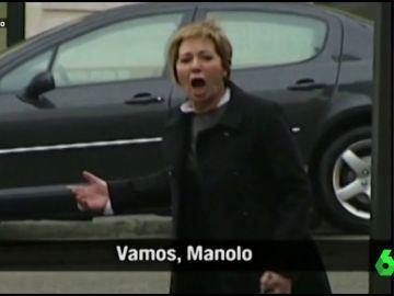 """El día que una enfadada Celia Villalobos hizo famoso a su chófer a pleno grito: """"¡Vamos joder, Manolo!"""""""
