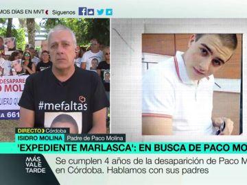 """Los padres de Paco Molina no pierden la esperanza cuatro años después de su desaparición: """"Estamos más cerca que nunca"""""""