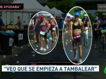"""El triatleta español que ayudó a Sarah True en el Ironman de Frankfurt: """"Veo a una chica que empieza a tambalearse..."""""""