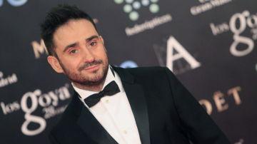 Juan Antonio Bayona en la alfombra roja de la 28ª Edición de los Premios Goya.