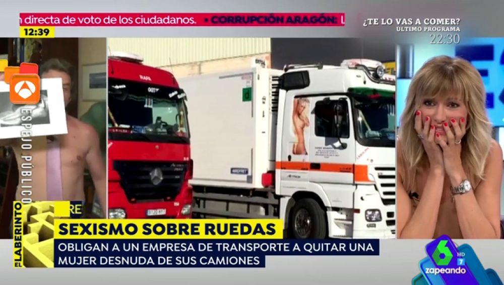 Un invitado de 'Espejo Público' deja alucinada a Susanna Griso tras desnudarse en plena entrevista