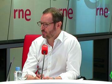 """Maroto critica a Vox por bloquear los gobiernos de Murcia y Madrid: """"Acaban de llegar a la política y lo primero que hacen es pedir cargos"""""""