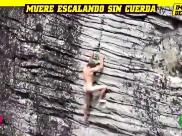Muere un conocido escalador tras caer al vacío mientras practicaba escalada sin cuerdas ni sujeciones