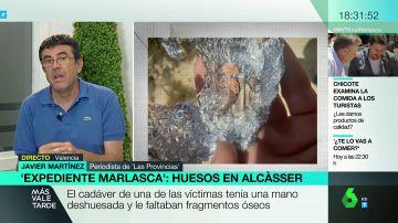 Así se descubrieron los huesos humanos hallados junto a la fosa de las niñas de Alcásser