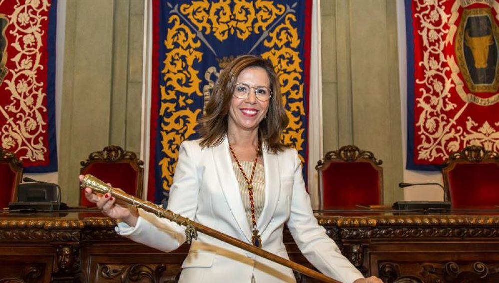 La alcaldesa de Cartagena, Ana Belén Castejón