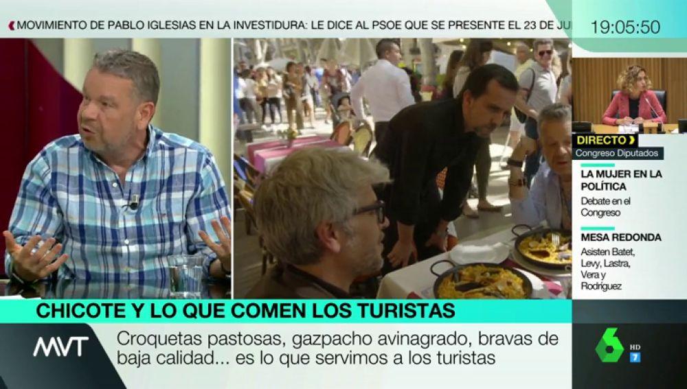 """Alberto Chicote destapa la calidad de la comida que se sirve a los turistas en España: """"Tenemos una fama que deberíamos defender más"""""""