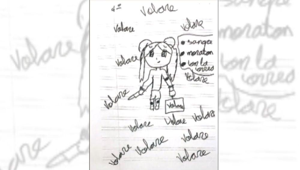 Maestras rescataron a niña que recibía latigazos gracias a este dibujo