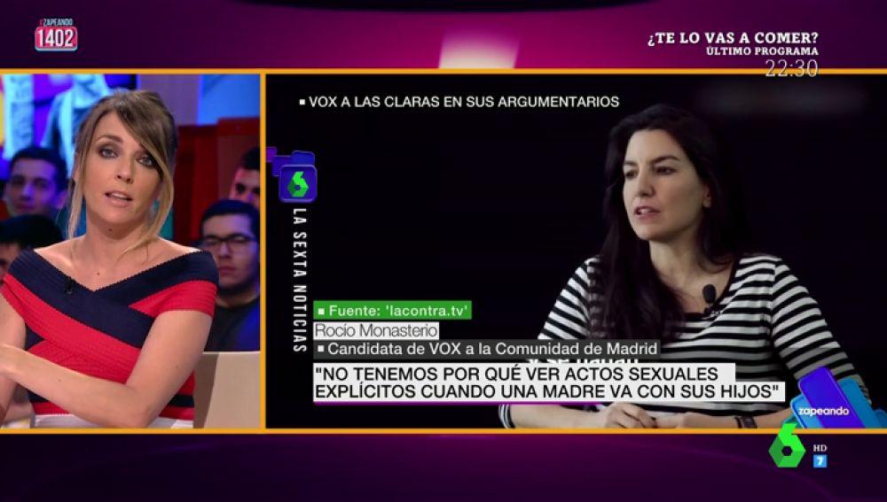 """El mensaje de Anna Simon a Rocio Monasterio tras sus declaraciones sobre el Orgullo: """"El día del desfile se puede ir a su apellido"""""""