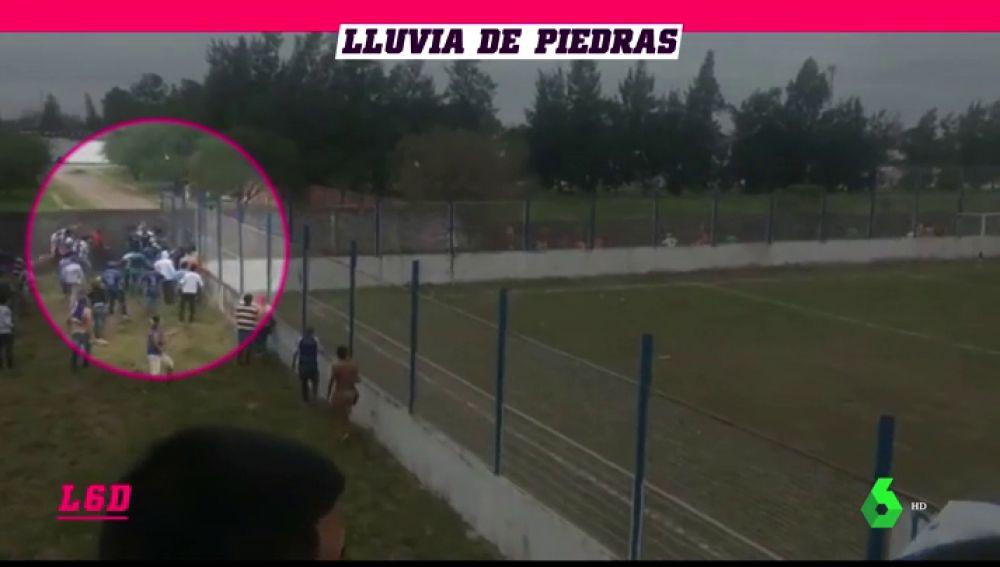 Disparos, pedradas, disturbios... el fútbol argentino, de nuevo protagonista por la violencia